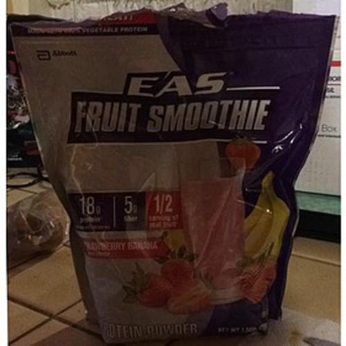 EAS Strawberry Banana Fruit Smoothie - 25.3 g