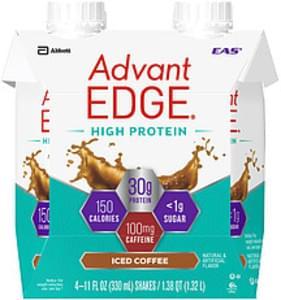EAS Advantedge EAS Advantedge High Protein Iced Coffee Shakes Advantedge High Protein Iced Coffee
