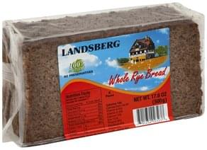 Landsberg Bread Whole Rye