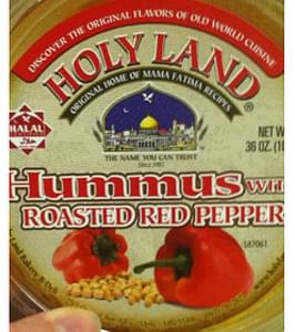 Holy Land Hummus with Roasted Red Pepper