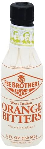 Fee Brothers Orange, West Indian Bitters - 5 oz