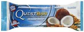 Quest Bar Protein Bar Natural, Coconut Cashew