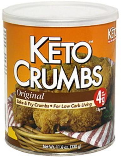 KETO Original Bake & Fry Crumbs - 11.6 oz