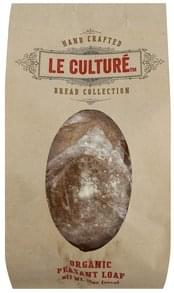 Le Culture Peasant Loaf Organic