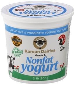 Karoun Yogurt Nonfat
