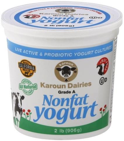 Karoun Nonfat Yogurt - 2 lb