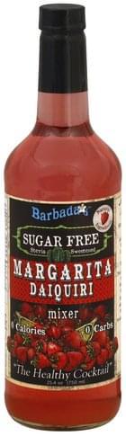 Barbadas Sugar Free Margarita Daiquiri Mixer - 25.4 oz