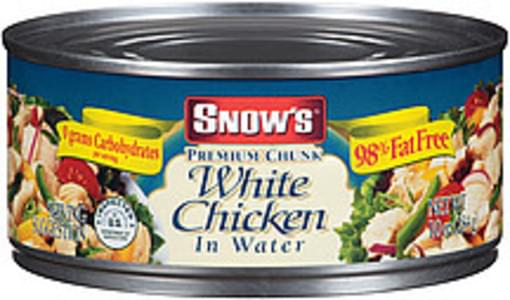 Snow's White Chicken Premium Chunk In Water