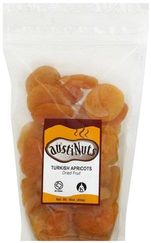 Austinuts Turkish Apricots Dried Fruit - 16 oz