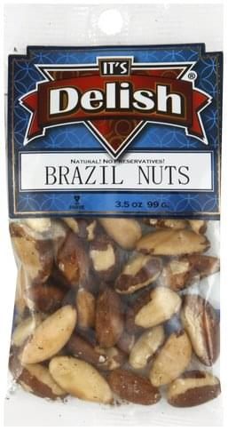 Its Delish Brazil Nuts - 3.5 oz