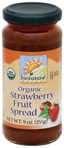 Bionaturae Fruit Spread Organic, Strawberry