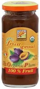 Bionaturae Fruit Spread Organic Plums