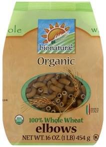 Bionaturae Elbows 100% Whole Wheat