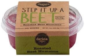 Darista Dips Hummus Roasted Beet