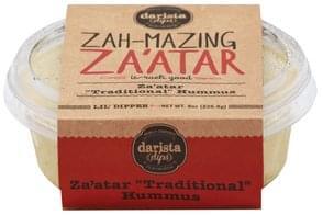 Darista Dips Hummus Za'atar Traditional
