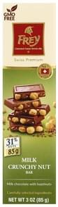 Frey Milk Chocolate with Hazelnuts, Bar