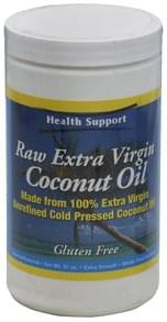 Health Support Coconut Oil Raw Extra Virgin