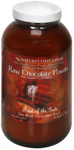 Natures First Law Raw Chocolate Powder - 16 oz