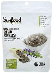 SunFood Superfoods Chia Seeds Raw Organic