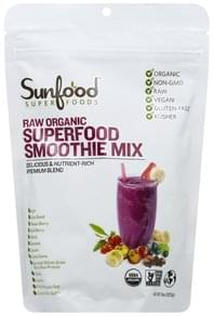 Super Foods Smoothie Mix Raw Organic, Superfood