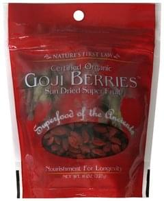 Natures First Law Goji Berries Certified Organic