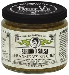 Frankie Vs Salsa Serrano, Savory & Spicy Recipe