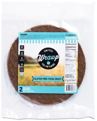 Wrawp Original Gluten-Free Pizza Crust - 2