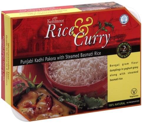 Kohinoor Punjabi Kadhi Pakora with Steamed Basmati Rice - 12.3 oz