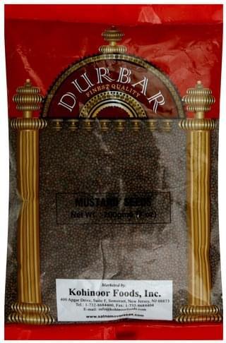 Durbar Mustard Seeds - 7 oz