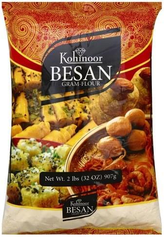 Kohinoor Gram, Besan Flour - 32 oz