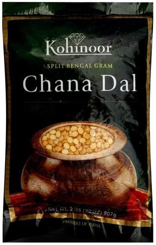 Kohinoor Chana Dal - 32 oz, Nutrition