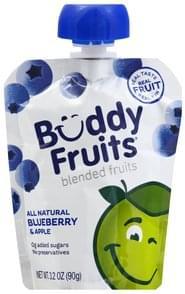Buddy Fruits Blended Fruits Blueberry & Apple