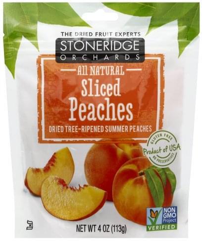 Stoneridge Orchards Sliced Peaches - 4 oz