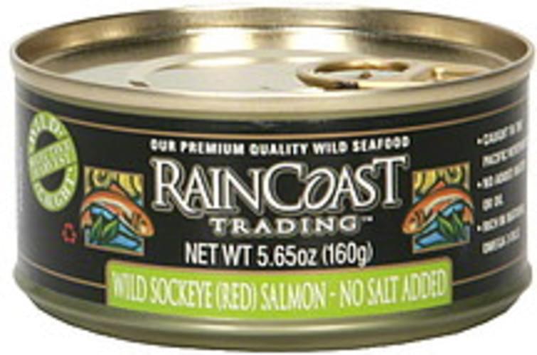 Raoast Trading Red Wild Sockeye Salmon - 5.65 oz