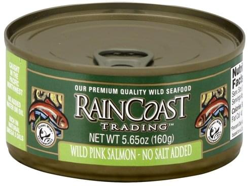 Raincoast Trading Wild Pink Salmon - 5.65 oz