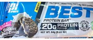 Bpi Sports Best Protein Bar Cookies and Cream