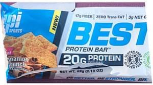 Bpi Sports Best Protein Bar Cinnamon Crunch