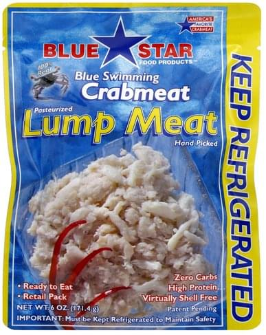 North Coast Brewing Lump Meat Crabmeat - 6 oz