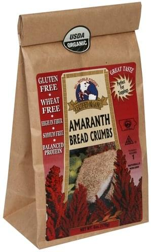 Nu World Foods Amaranth Bread Crumbs - 6 oz