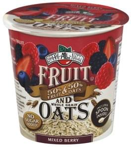 Brothers All Natural Fruit and Whole Grain Oats Mixed Berry