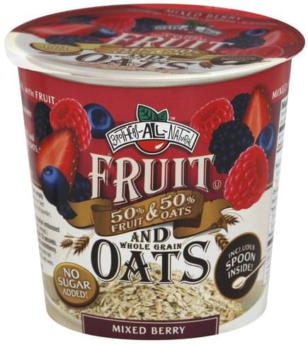 Brothers All Natural Mixed Berry Fruit and Whole Grain Oats - 1.16 oz