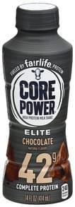 Core Power Milk Shake High Protein, Elite, Chocolate