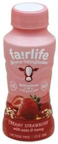 Fairlife Milkshakes Smart, Creamy Strawberry with Oats & Honey