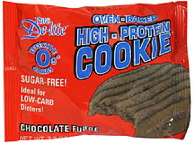 Pure De Lite Chocolate Fudge Oven-Baked High-Protein Cookie - 2.2 oz