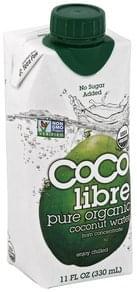 Coco Libre Coconut Water Pure Organic
