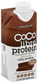 Coco Libre Coconut Water Protein, Chocolate