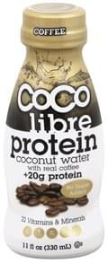 Coco Libre Coconut Water Protein, Coffee