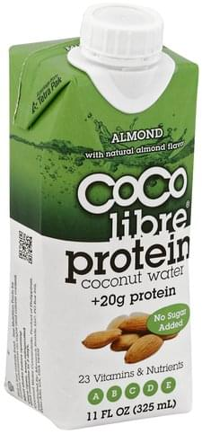 Coco Libre Protein, Almond Coconut Water - 11 oz