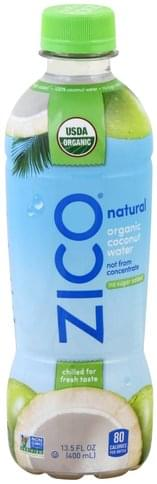 Zico Organic Coconut Water - 13.5 oz