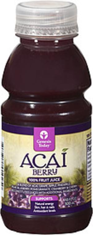 Genesis Today Acai Berry Fruit Juice - 10 oz